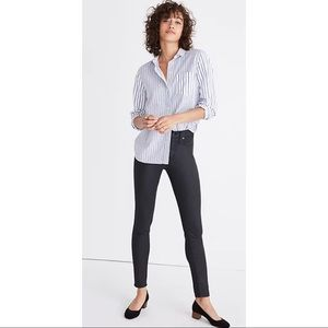 Like New Madewell 9in High Rise Coated Edition